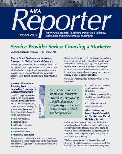 choosing a marketer