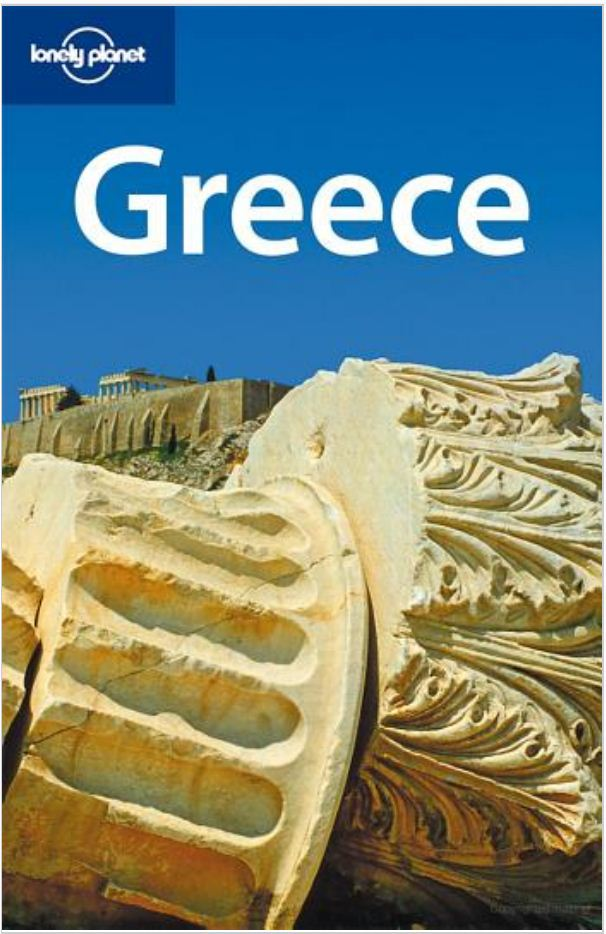 Lonely Planet Greece 2008 edition - with Sgouros - COVER.JPG