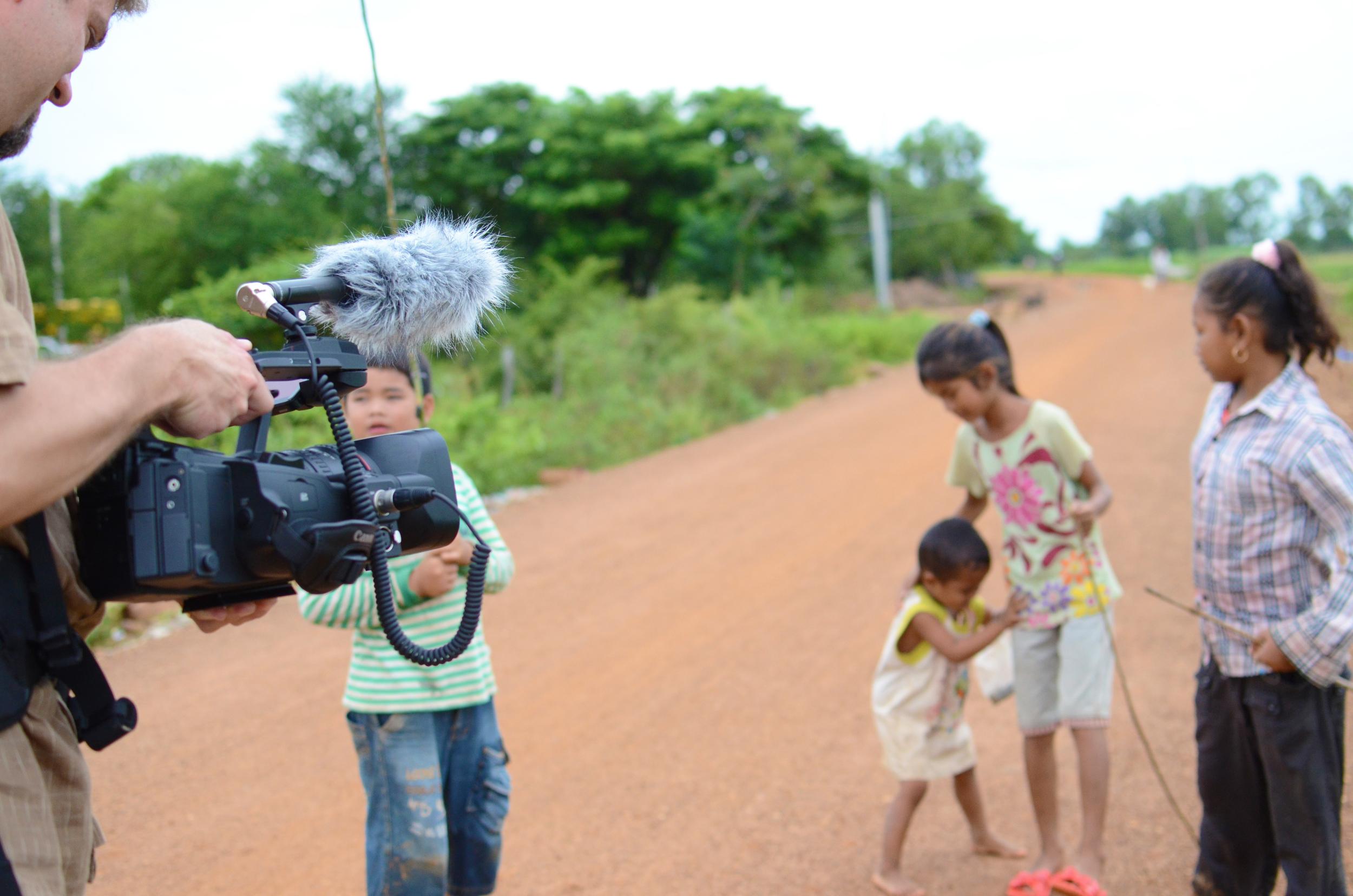 Todd in Cambodia, 2011