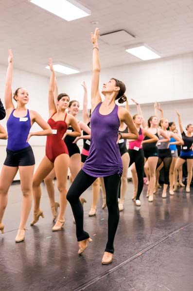 Teaching the Rockette Summer Intensive at Radio City Music Hall