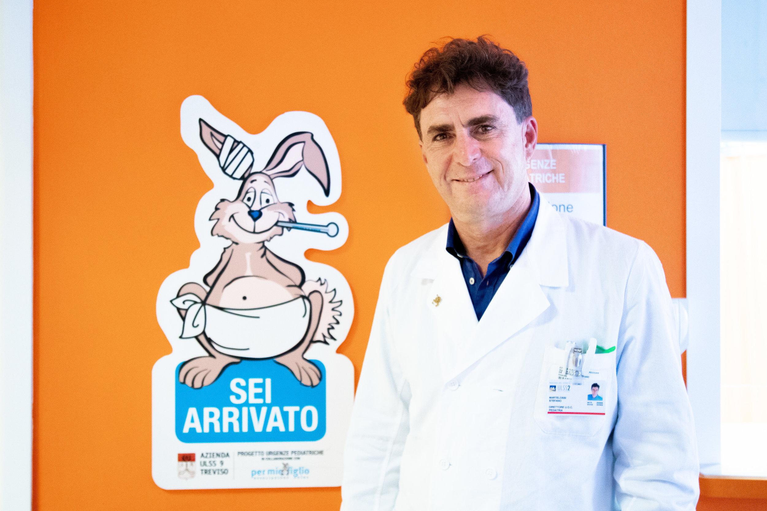 Dott. Stefano Martelossi, direttore Pediatria Treviso