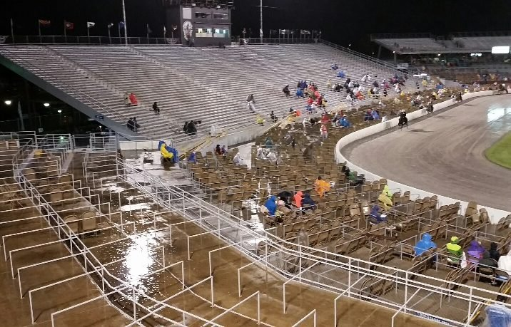 Gone are the days when spectators sat shoulder to shoulder in the nearly 30,000-seat arena in Shelbyville, providing a boost to the local economy in middle Tennessee. Photo by Keith Dane/The HSUS