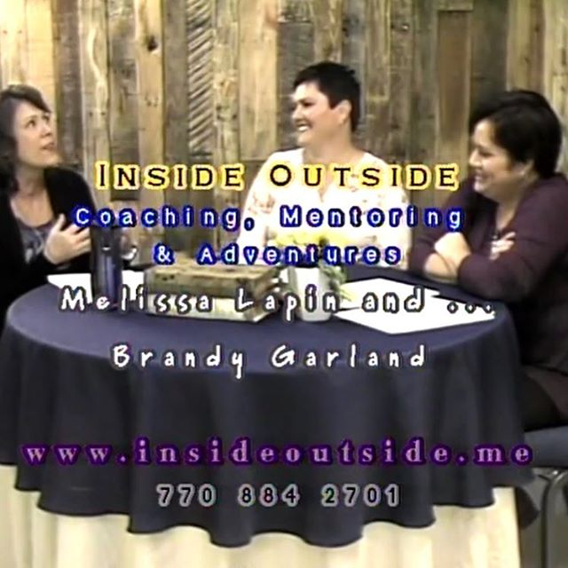 A screenshot from our interview last weekend. So exciting. Stay tuned for the full download tmro!!! @garland4ashes #insideoutide #bestdayever #insideoutsidega