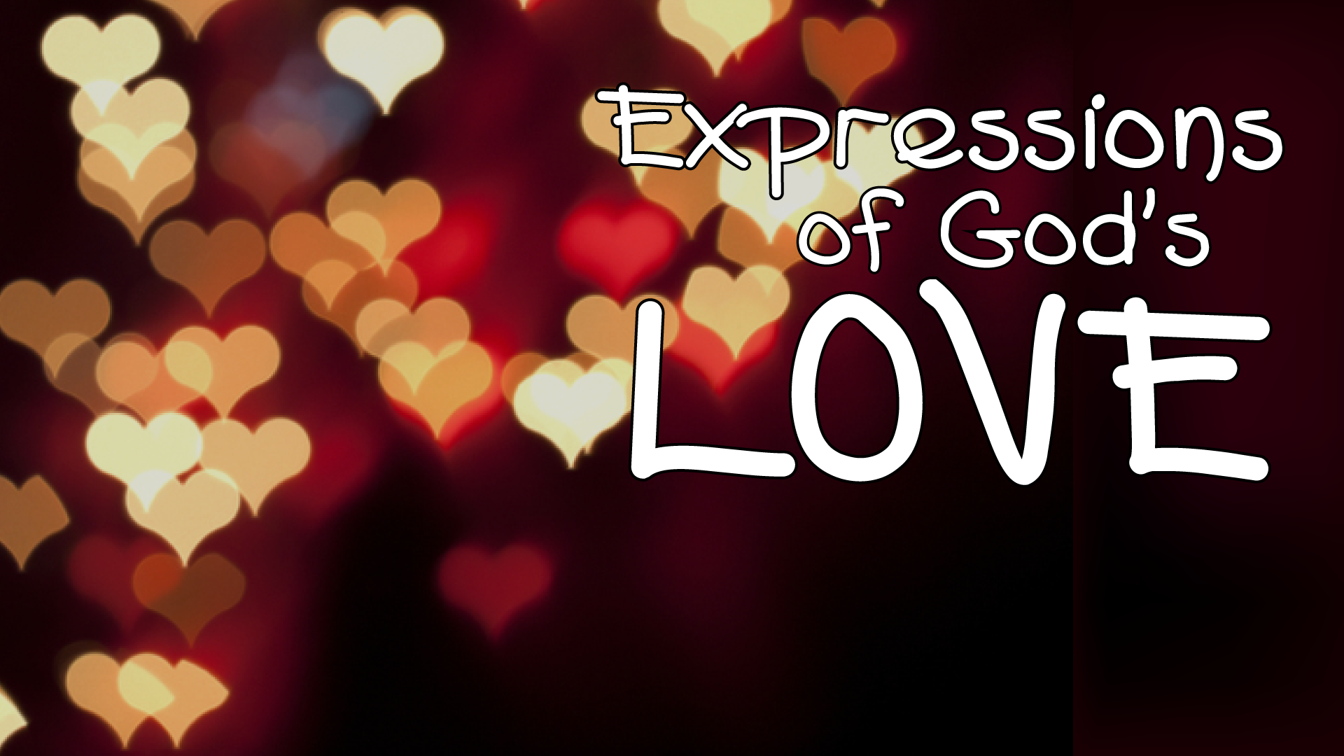Expressions of God's Love