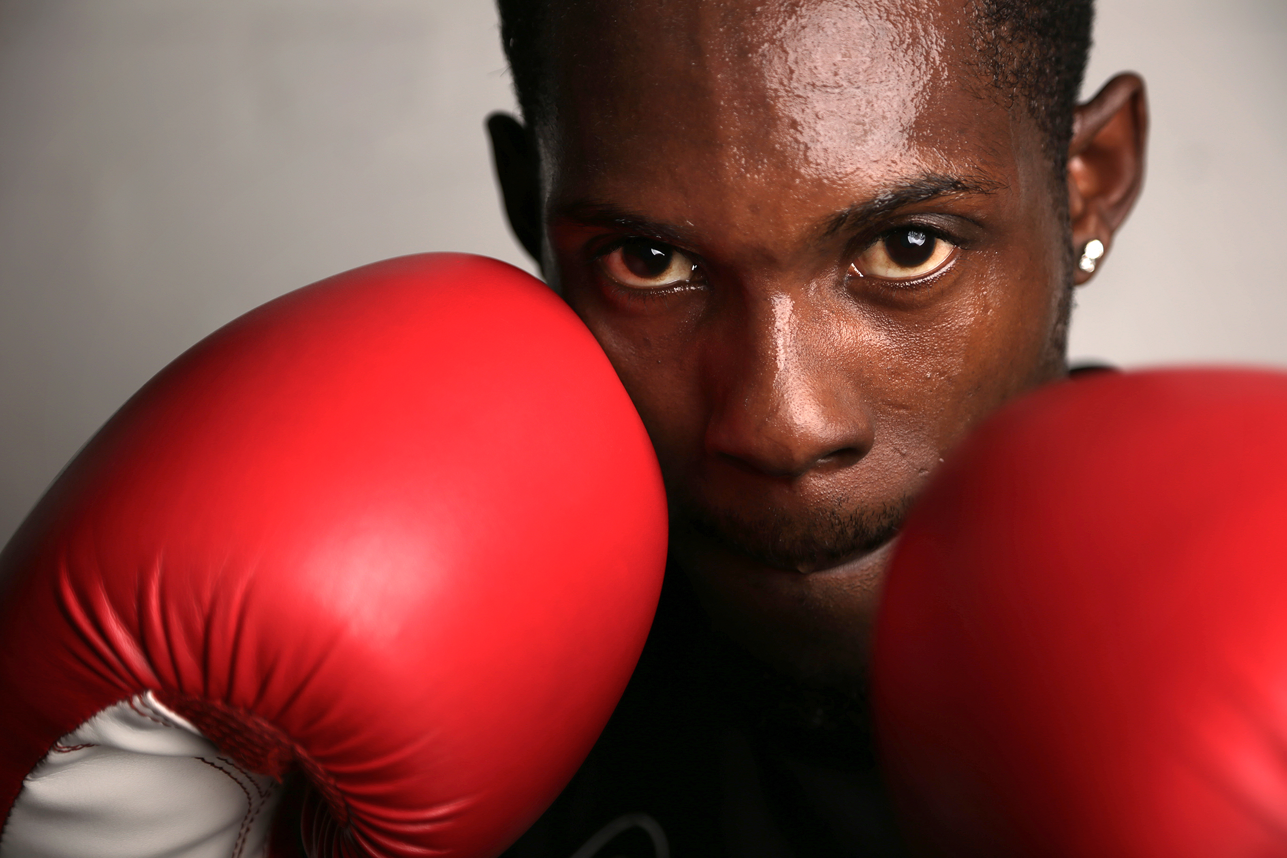 alex foster photographer london essex dublin south east boxing boxer carneys community wandsworth red gloves portrait.jpg