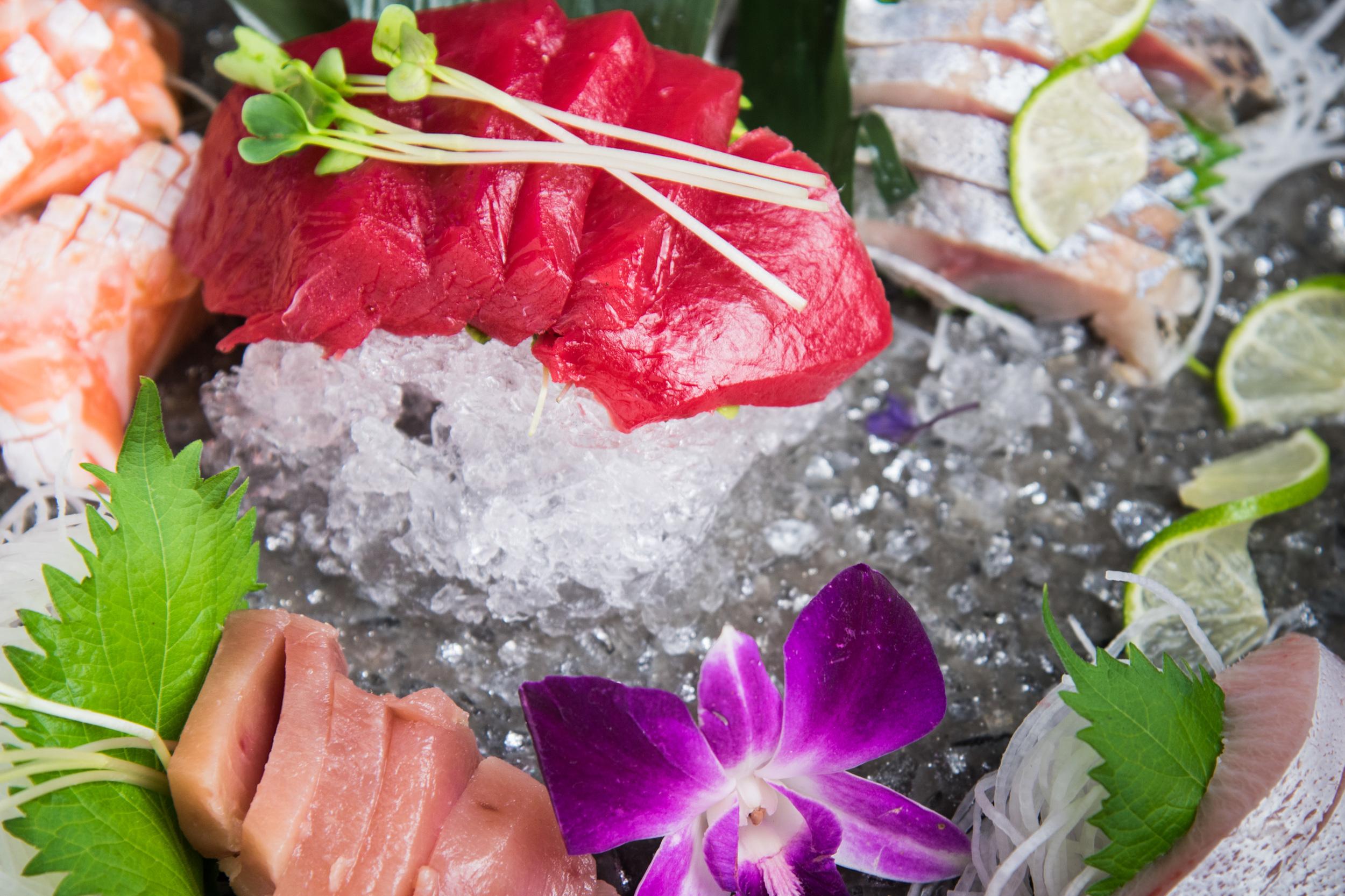 Bluefin Sashimi