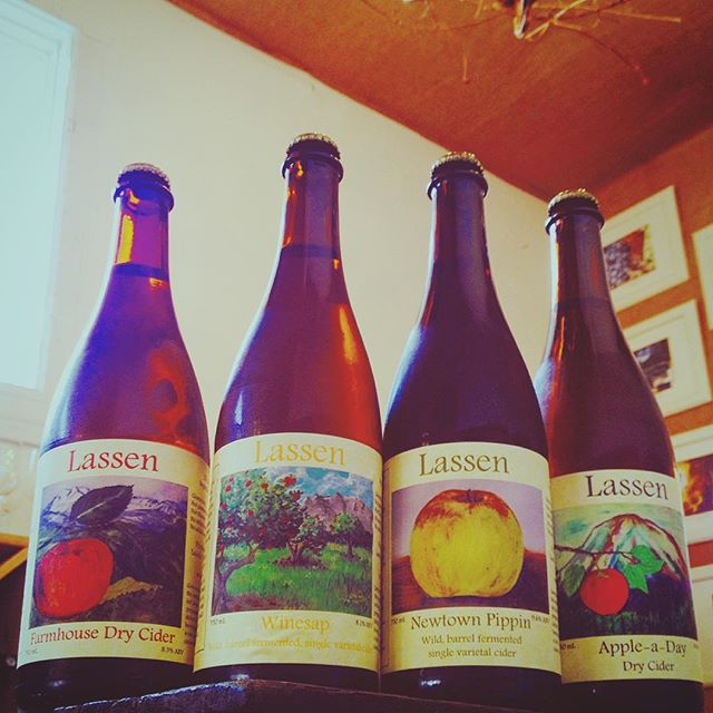 Lassen Traditional Cider was founded by Ben Nielsen in 2015. Come to Local Cellar this Saturday! 1/20! 5-7pm! ¡FREE! 21+ Enjoy the fruits of Ben's labor as he pours Farmhouse Dry Cider (predominantly King David apples barrel-aged, wild fermented with a mix of other American heirloom varieties), and the Single Varietals: Newtown Pippin and Winesap and the more elegant, non barrel aged (re:less 'funk') Champagne-like, modern dry style that incorporates some dessert fruit with heirloom varieties; Apple-a-day! Ben's love of fermentation began when he started brewing beer in college. After brewing extensively for his adult life, around 2005 he began delving into cider in an effort to use the free fruit from a neighbor's backyard apples trees in Corvallis, OR. After a couple years, this morphed into an annual cider pressing party! A major revelation occurred when a batch of cider was produced from crab apples, and it ended up being the best he'd ever made. So, some apples that were so astringent as to be seemingly inedible actually made delicious cider. After this, an effort was undertaken to seek out varieties of apples that were good for cider instead of scavenging whatever was available. Finding Nick Botner's orchard in Yoncalla, OR, with over 4,000 apple varieties, was a godsend, allowing Ben to experiment with single varietal ciders made from unusual apples, from European bittersharps and bittersweets to an array of American heirlooms. Most of 2015 was spent finding a location and undertaking the permit process. Although he's still learning how to be an entrepreneur, he has a lot of pride in his cider, with a firm desire to make high quality, traditional-style cider. #cider #hardcider #drycider #farmhousedrycider #singlevarietalcider #winesapapples #newtownpippinapples #barrelfermentedcider #wildferment #lassencider #lassentraditionalcidery #lassentraditionalcider #chico #chicocalifornia #lowresidualsugar #funkycider #lassen #freetasting #localcellarsf #localcellar #
