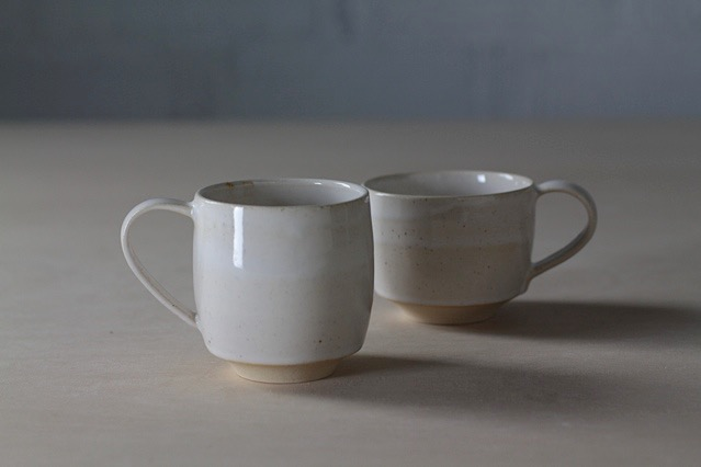 Ceramic tableware mugs by Lilith Rockett, Portland, Oregon