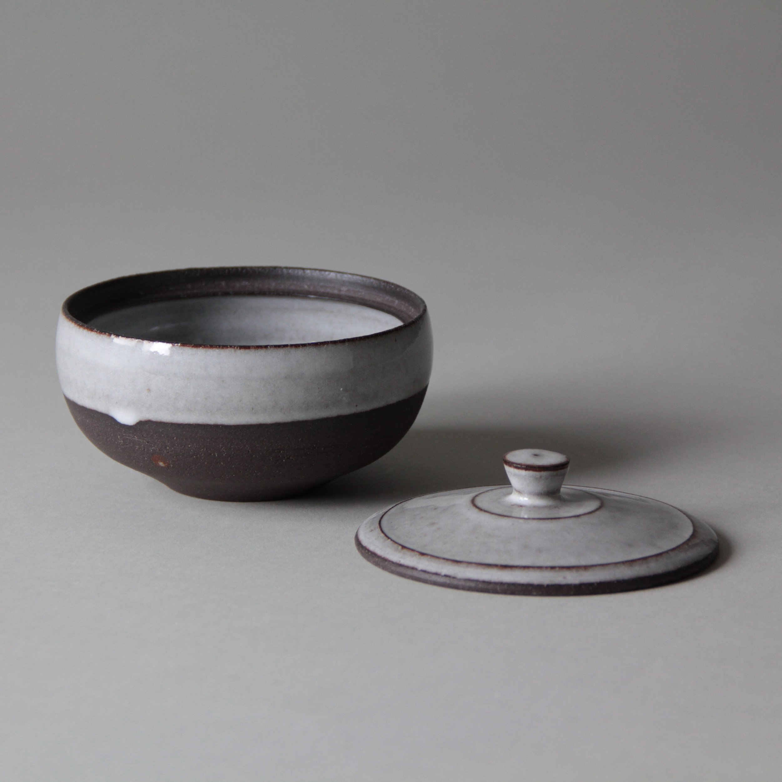 Ceramic containers made by Lilith Rockett, Portland, Oregon