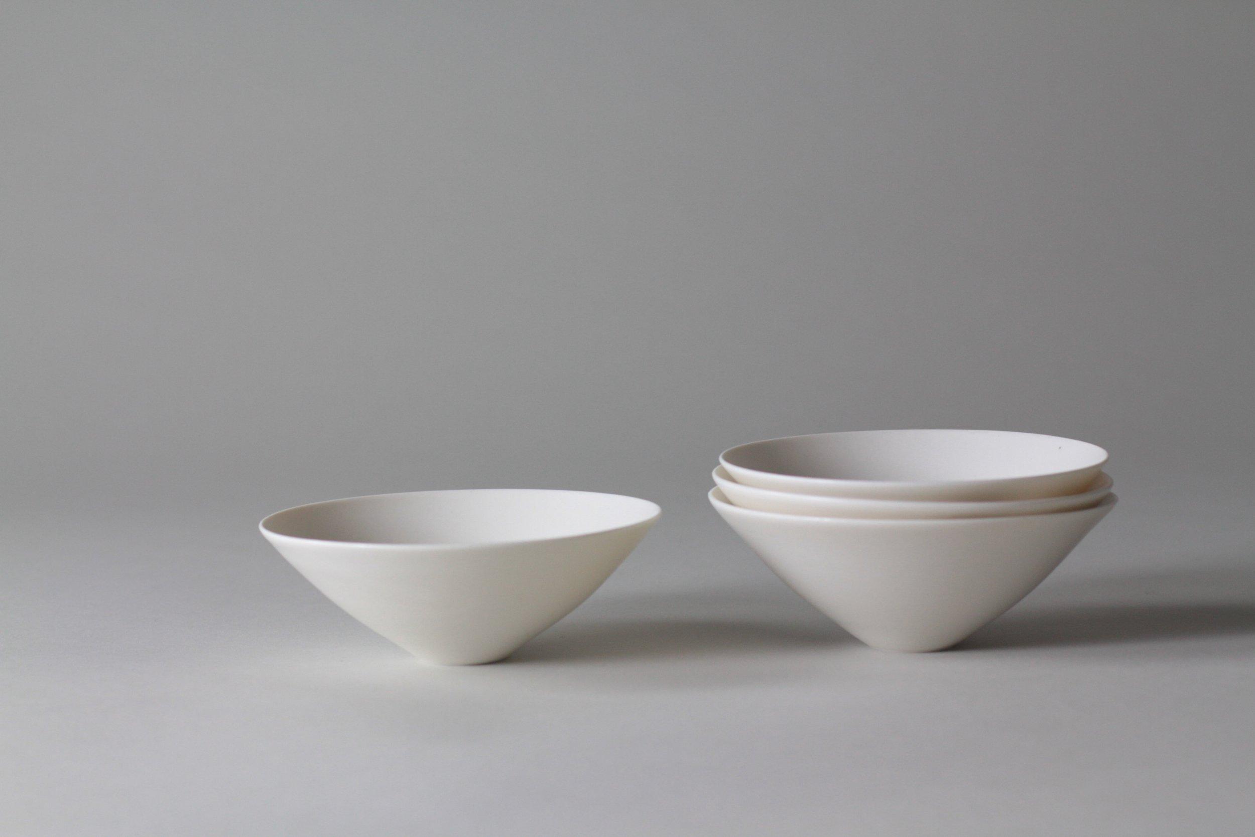 Ceramic tableware bowls by Lilith Rockett, Portland, Oregon