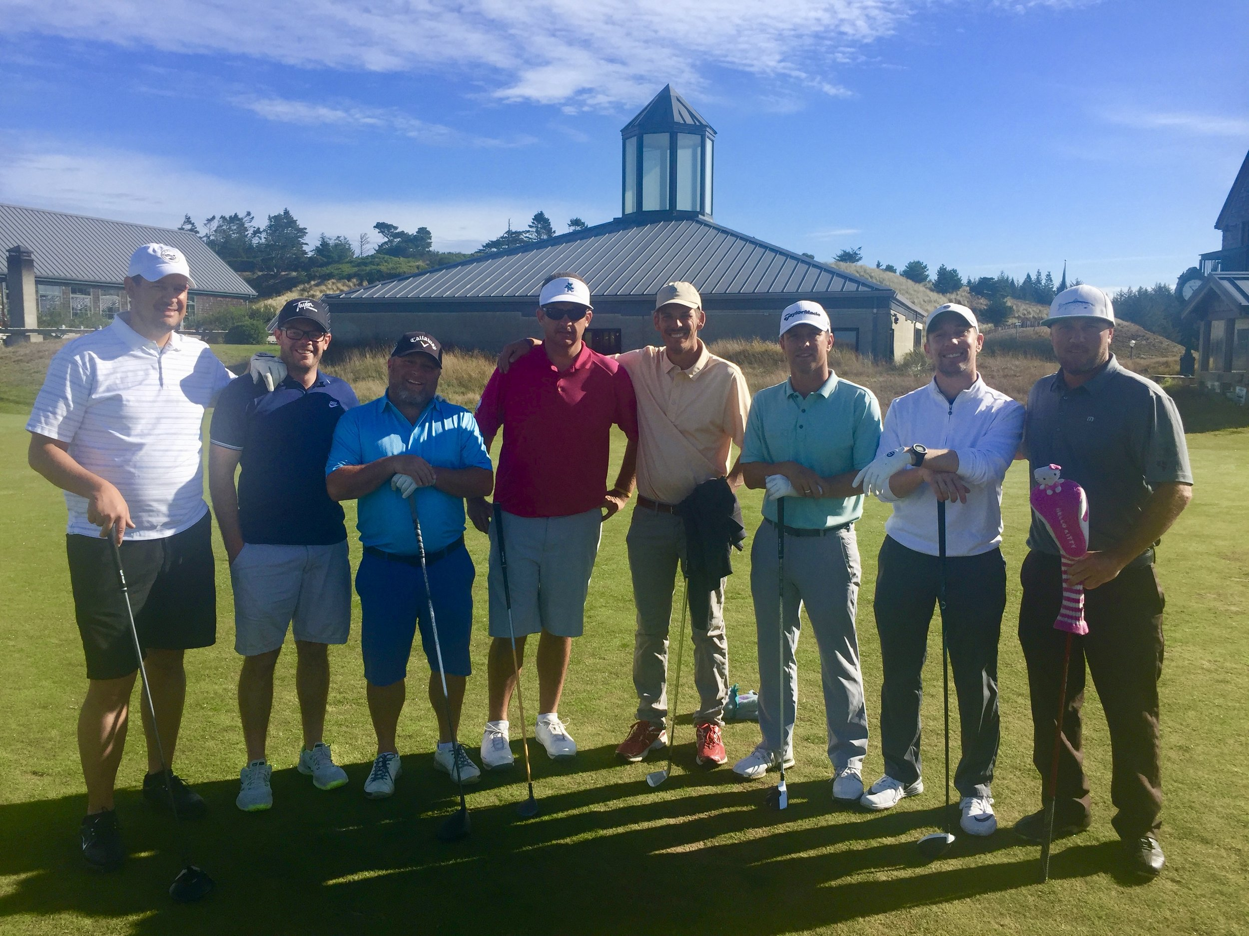Nothing better than golf with brothers.
