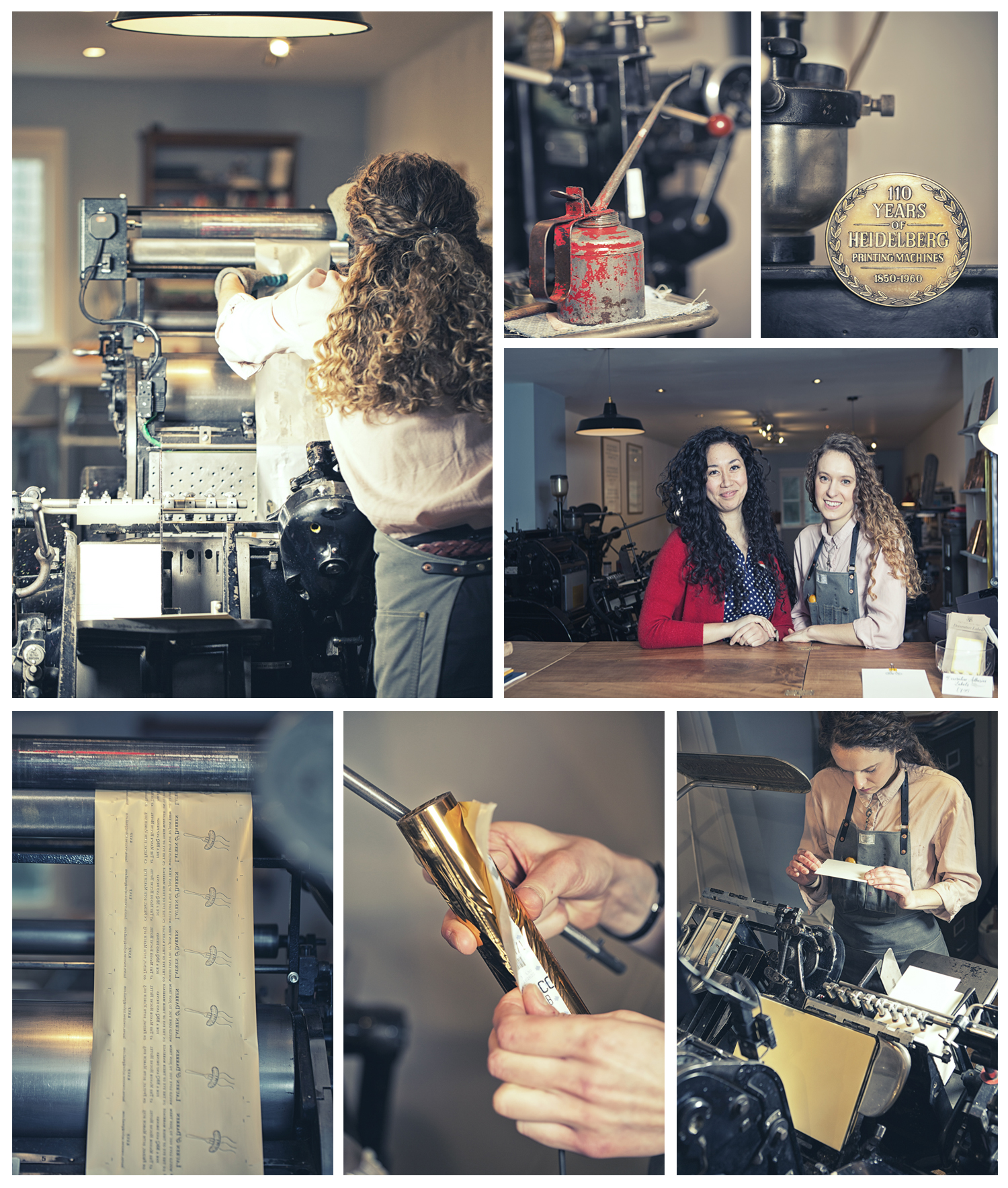 Zoe and Athena @ Meticulous Ink, fine stationers and letterpress, Walcott St, Bath, UK