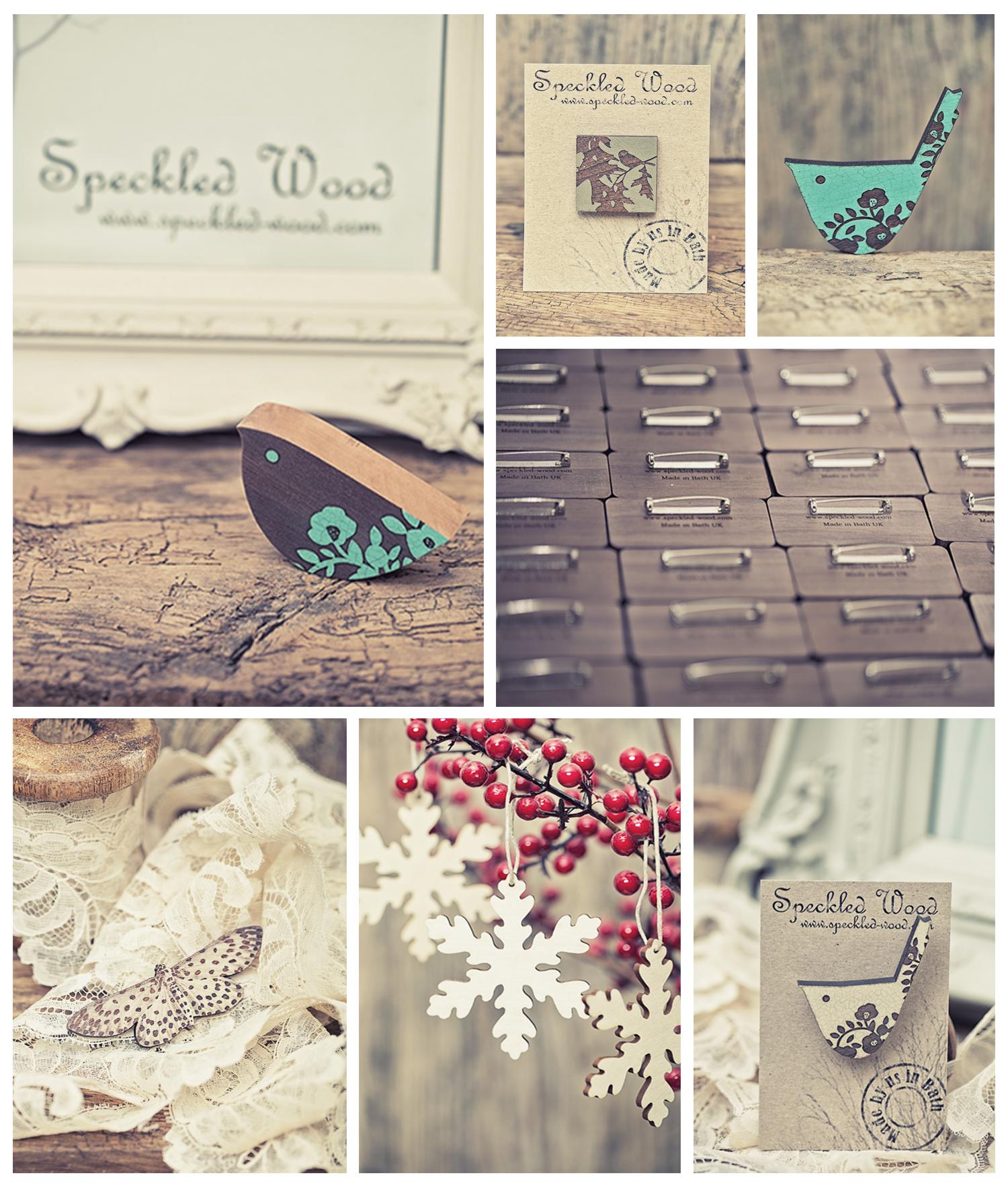 Speckled-wood designs, Bath, UK