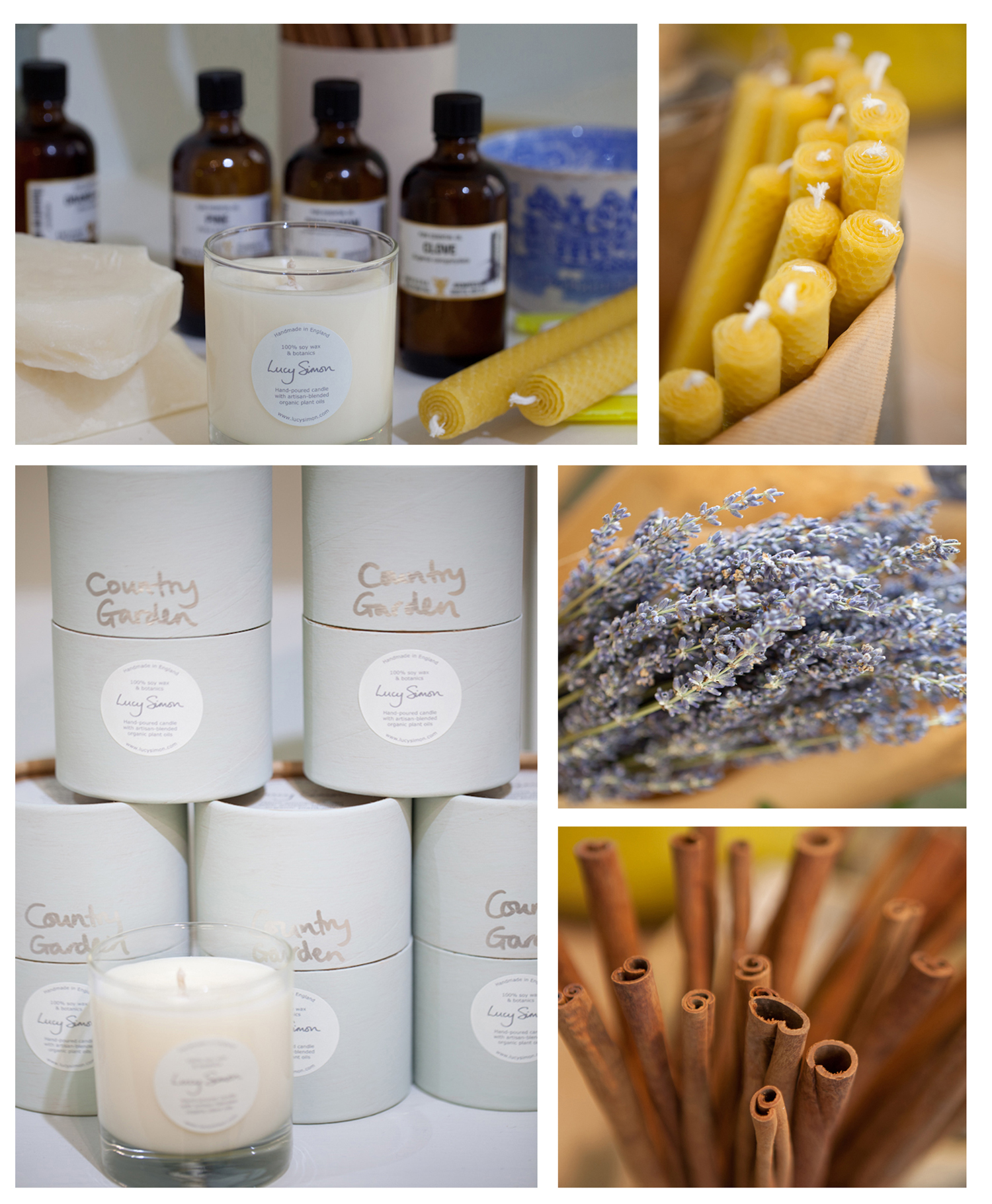 Lucy Simon Designs: handmade candles