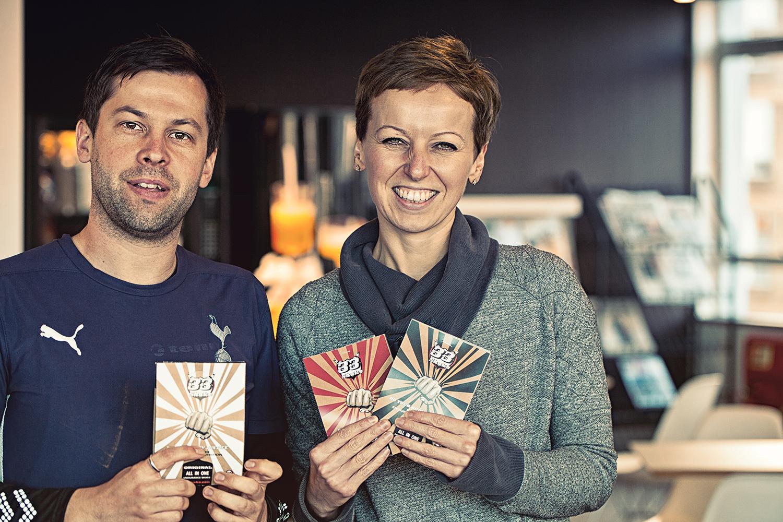 Helen & Matt @ 220 Triathlon magazine, Bristol