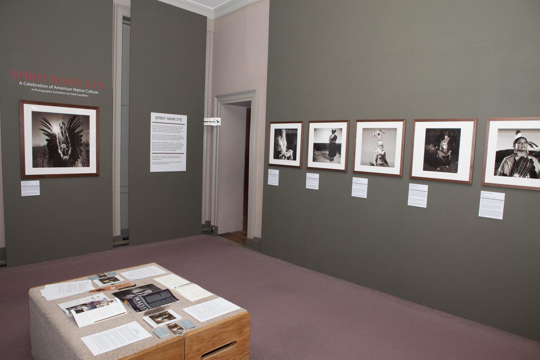 Spirit Hawk Eye Exhibition at the American Museum, Claverton, near Bath,UK