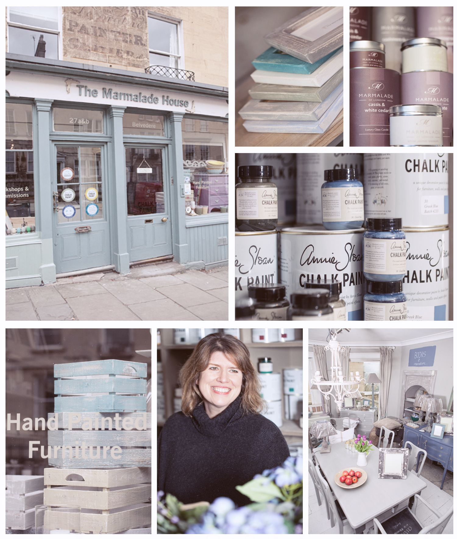 The Marmalade House, Bath, UK. Chalk painting furniture specialists