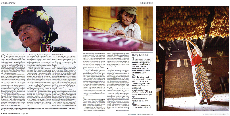 Freelance Photographer magazine
