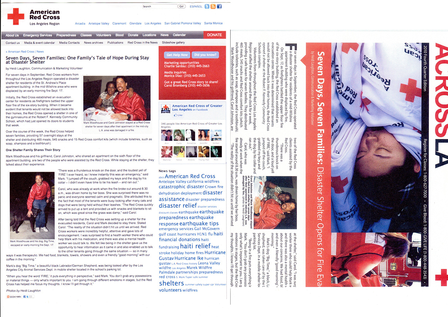excerpts from Red cross reports