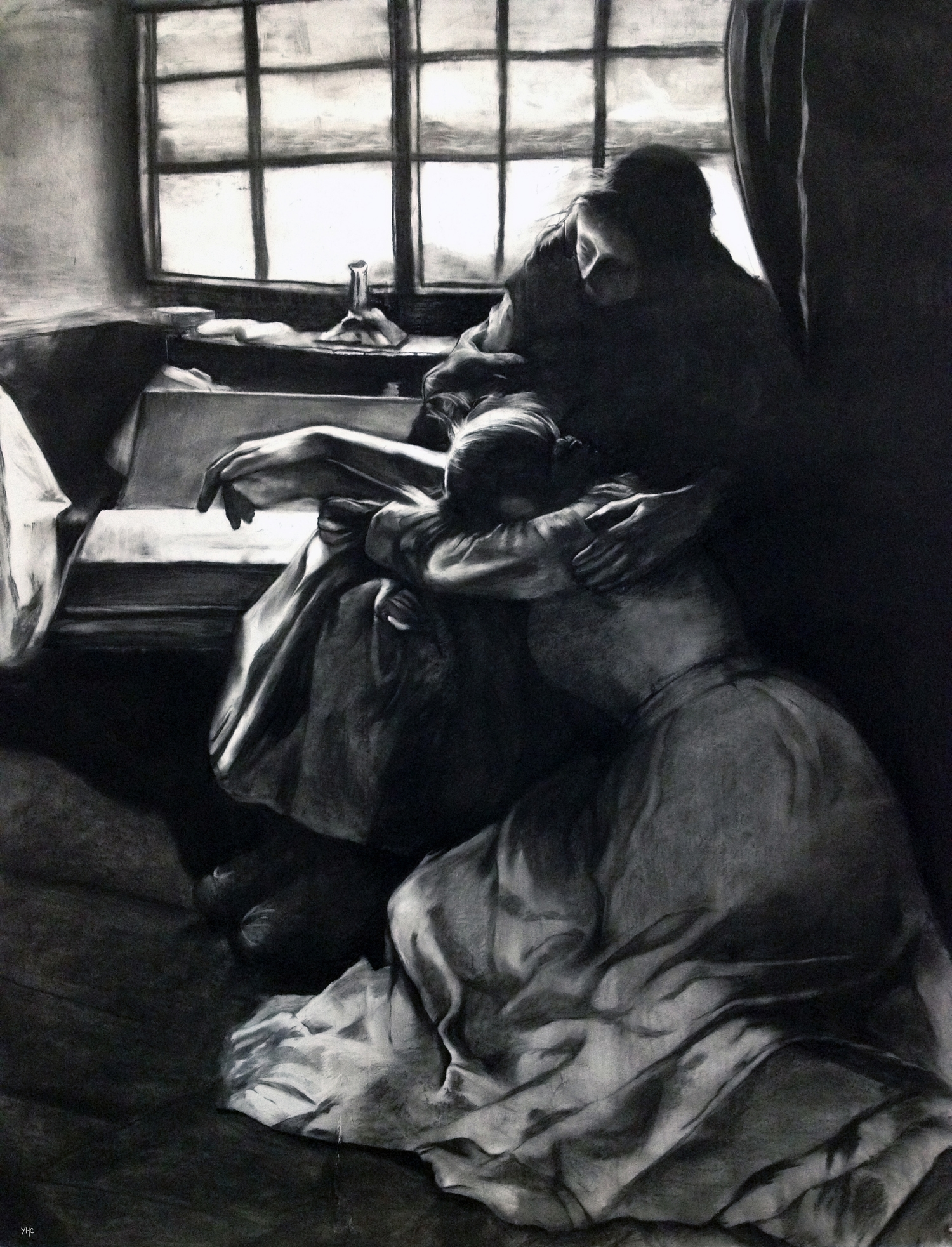 "Recreating ""A Hopeless Dawn"" by Frank Bramley"