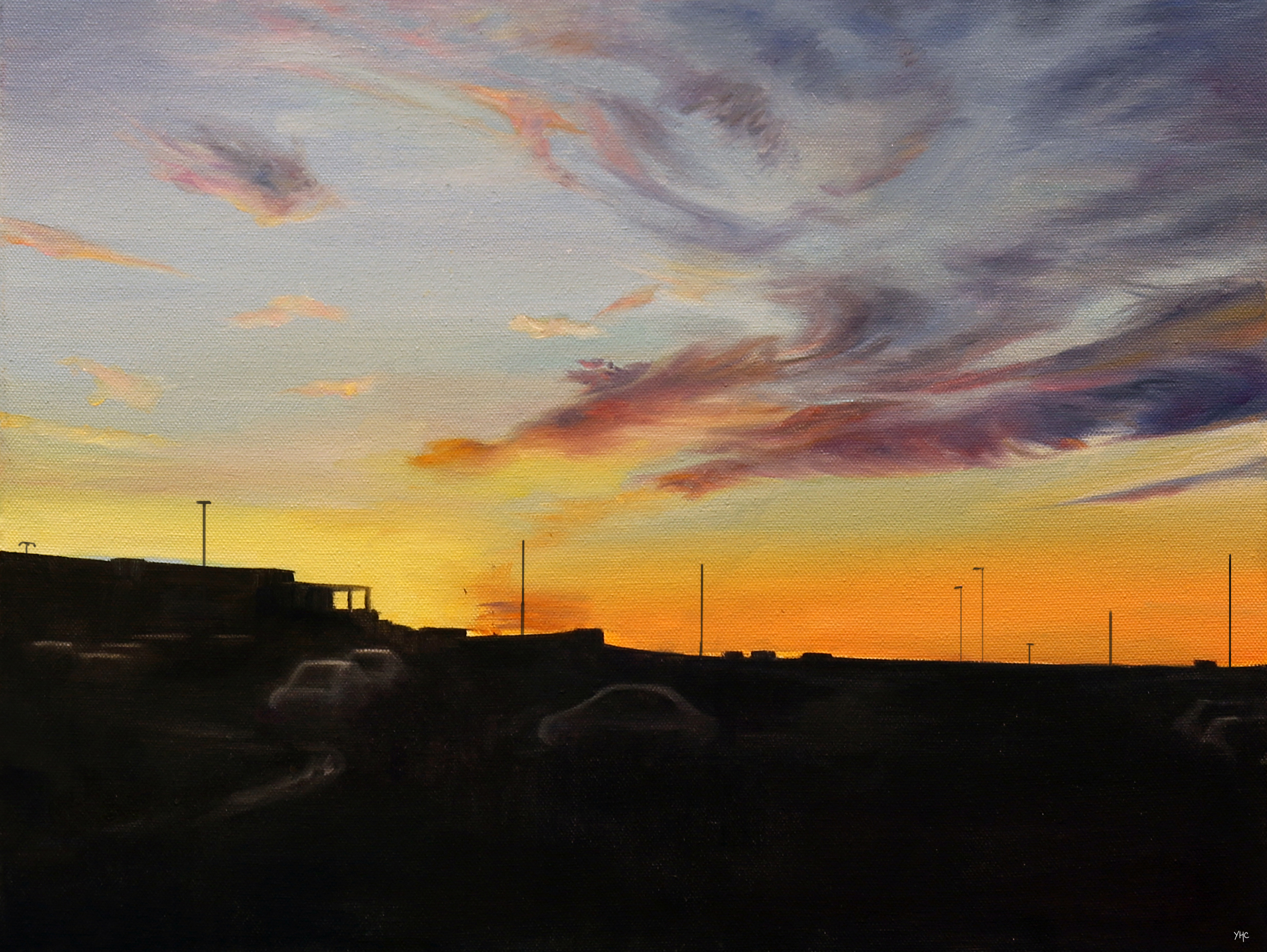 Landscape II (Sunset)