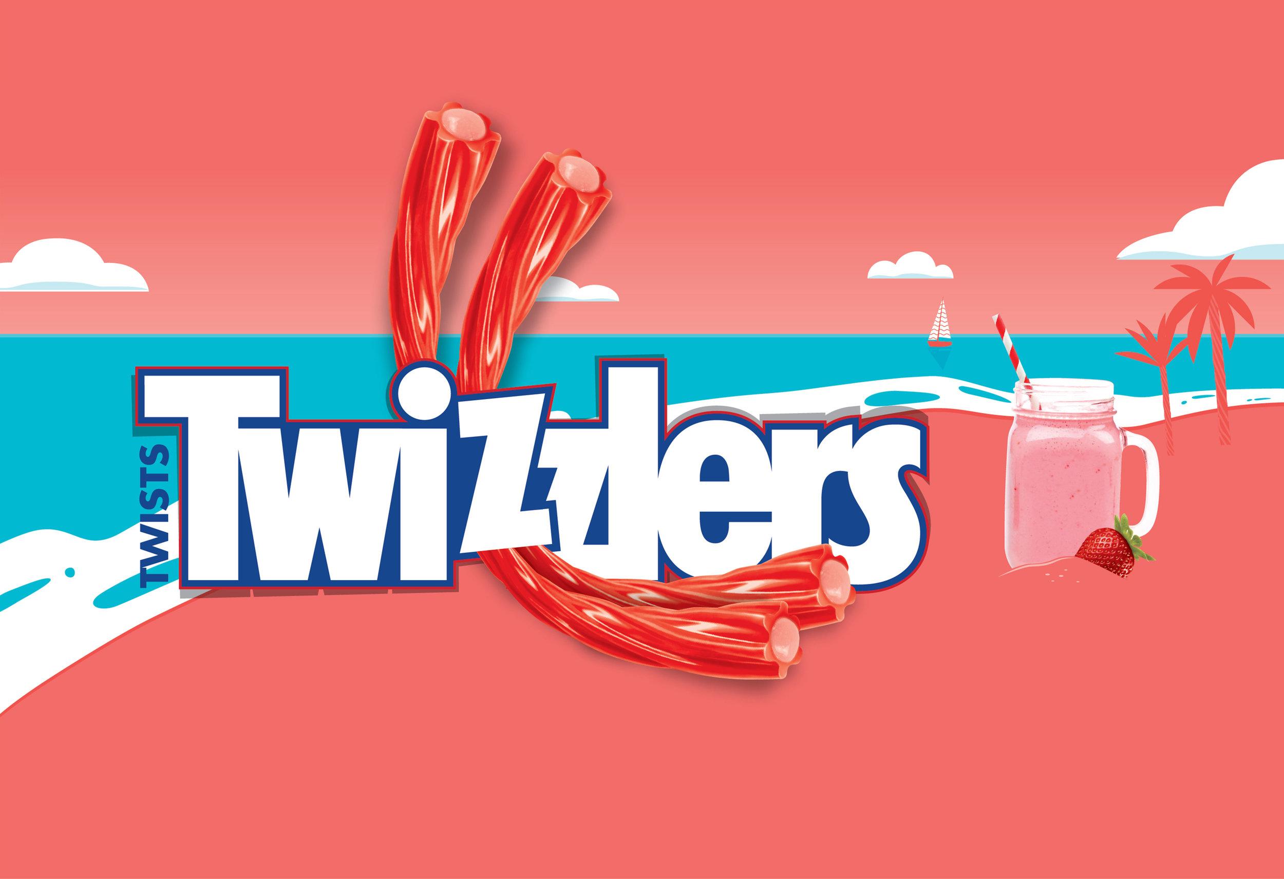 Twizzler's Filled Twist Smoothies — Arren Dawinan