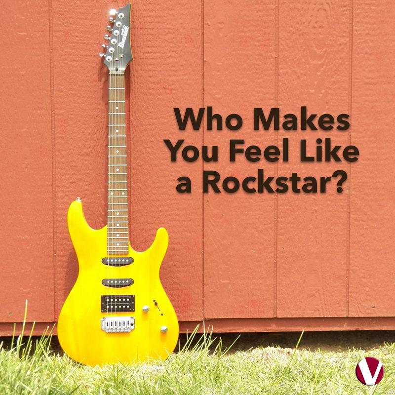 who makes you feel like a rockstar