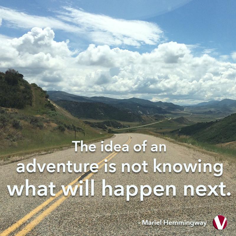 the idea of an adventure