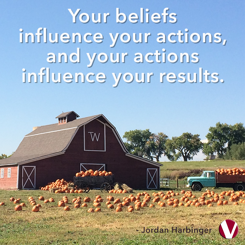 your beliefs influence your actions