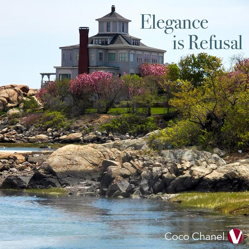 elegance is refusal