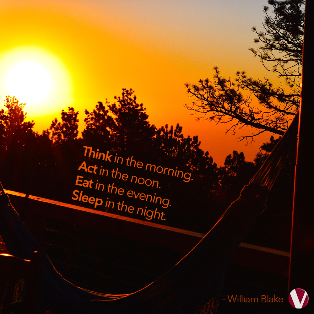 think in the morning william blake