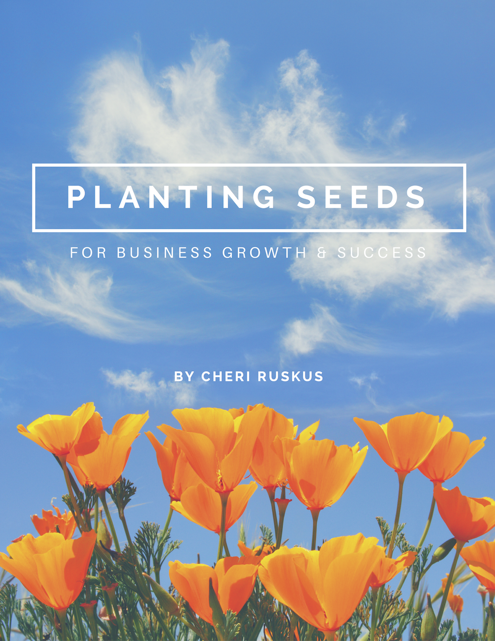 Planting Seeds for Business Growth and Success the Victory Circles Cheri Ruskus