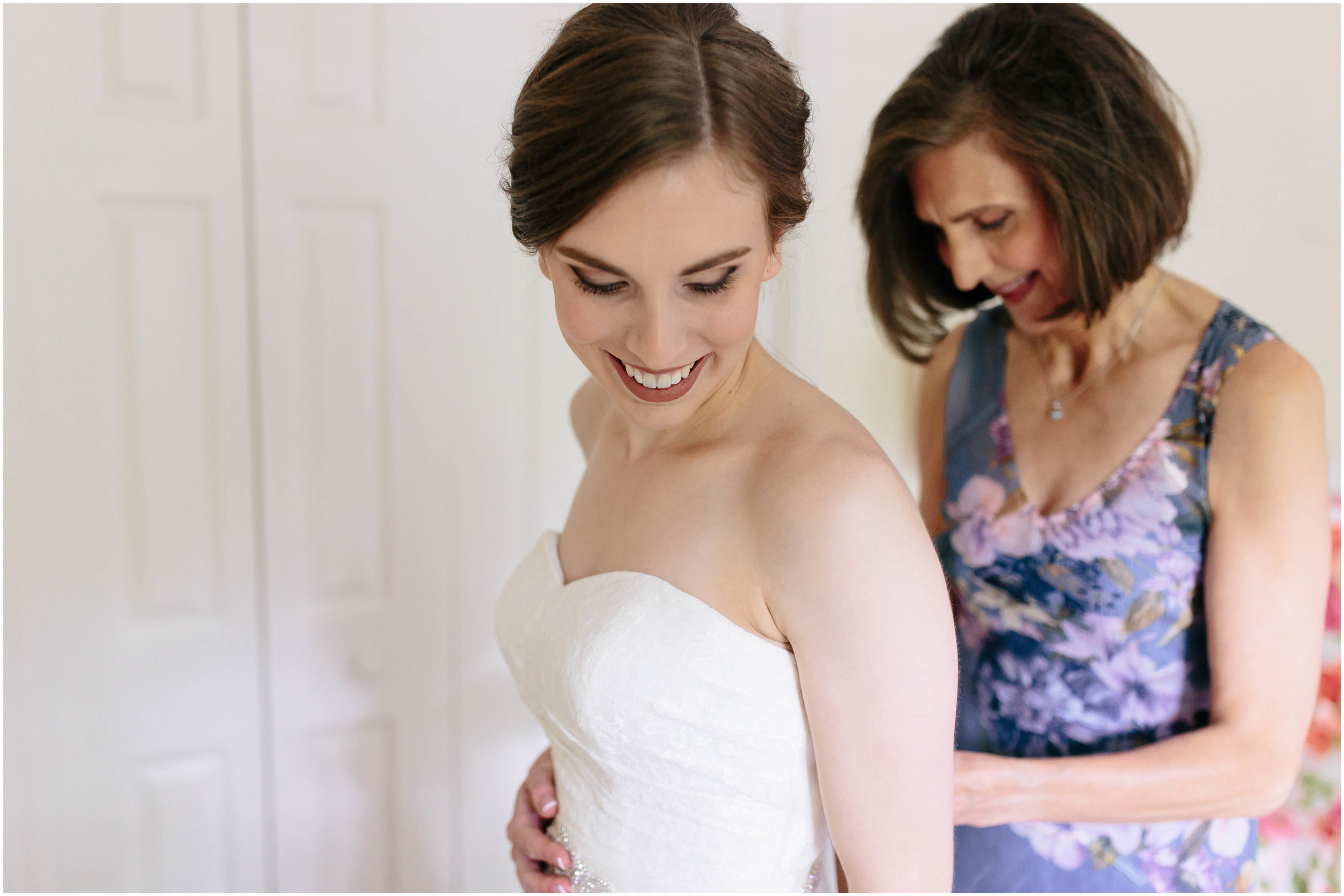 Sunny New Hampshire Summer Wedding at Mile Away Restaurant - mother of the bride