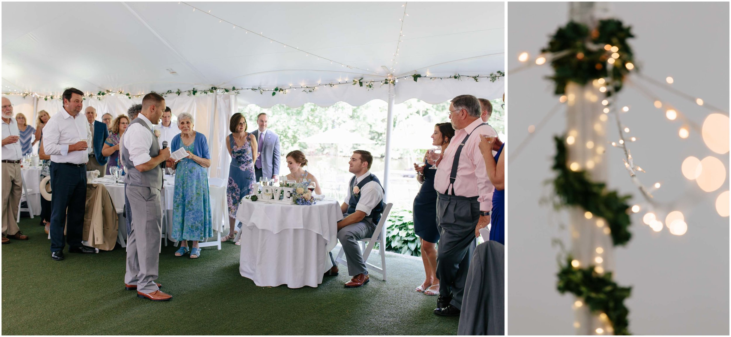 Sunny New Hampshire Summer Wedding at Mile Away Restaurant Milford