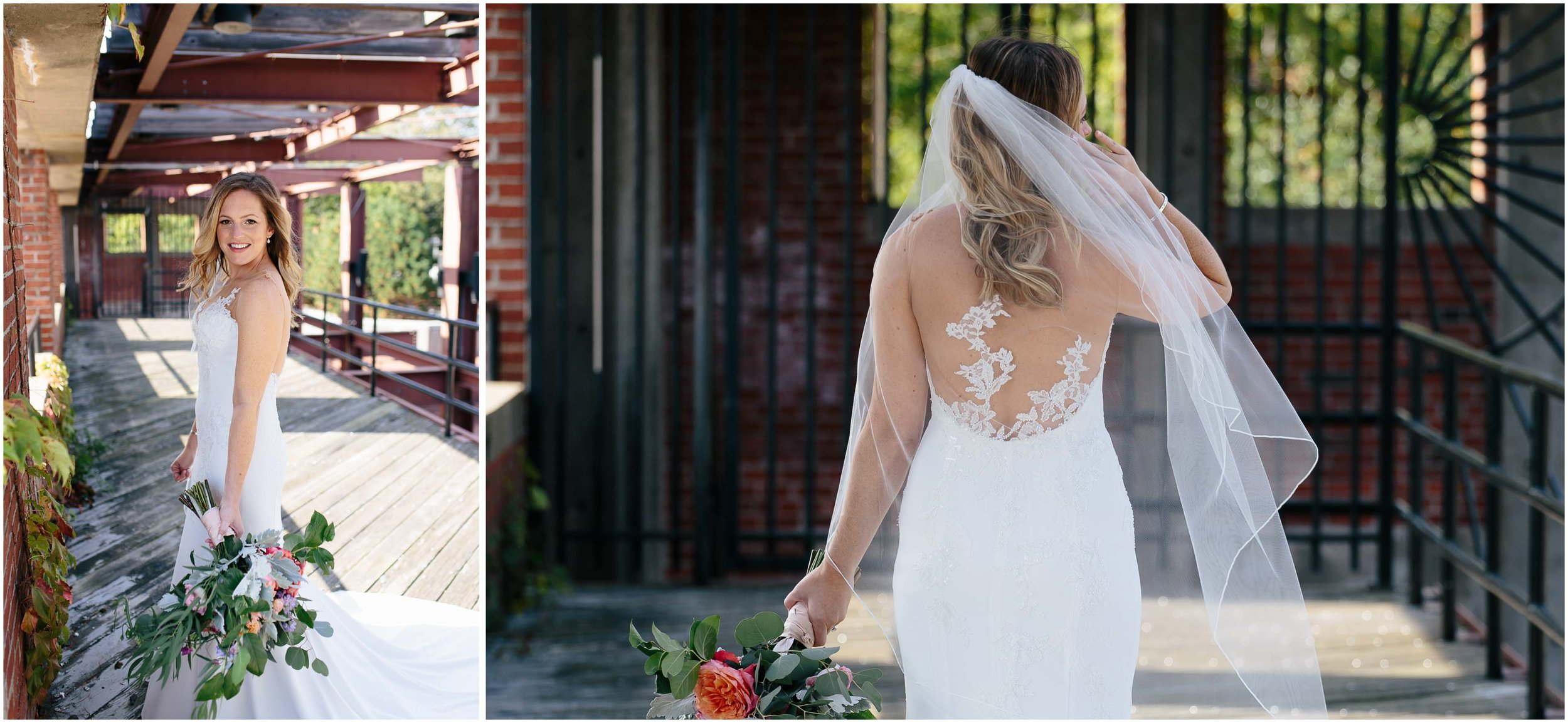Nautical Massachusetts Jewish Wedding in the Boston Navy Yard bride