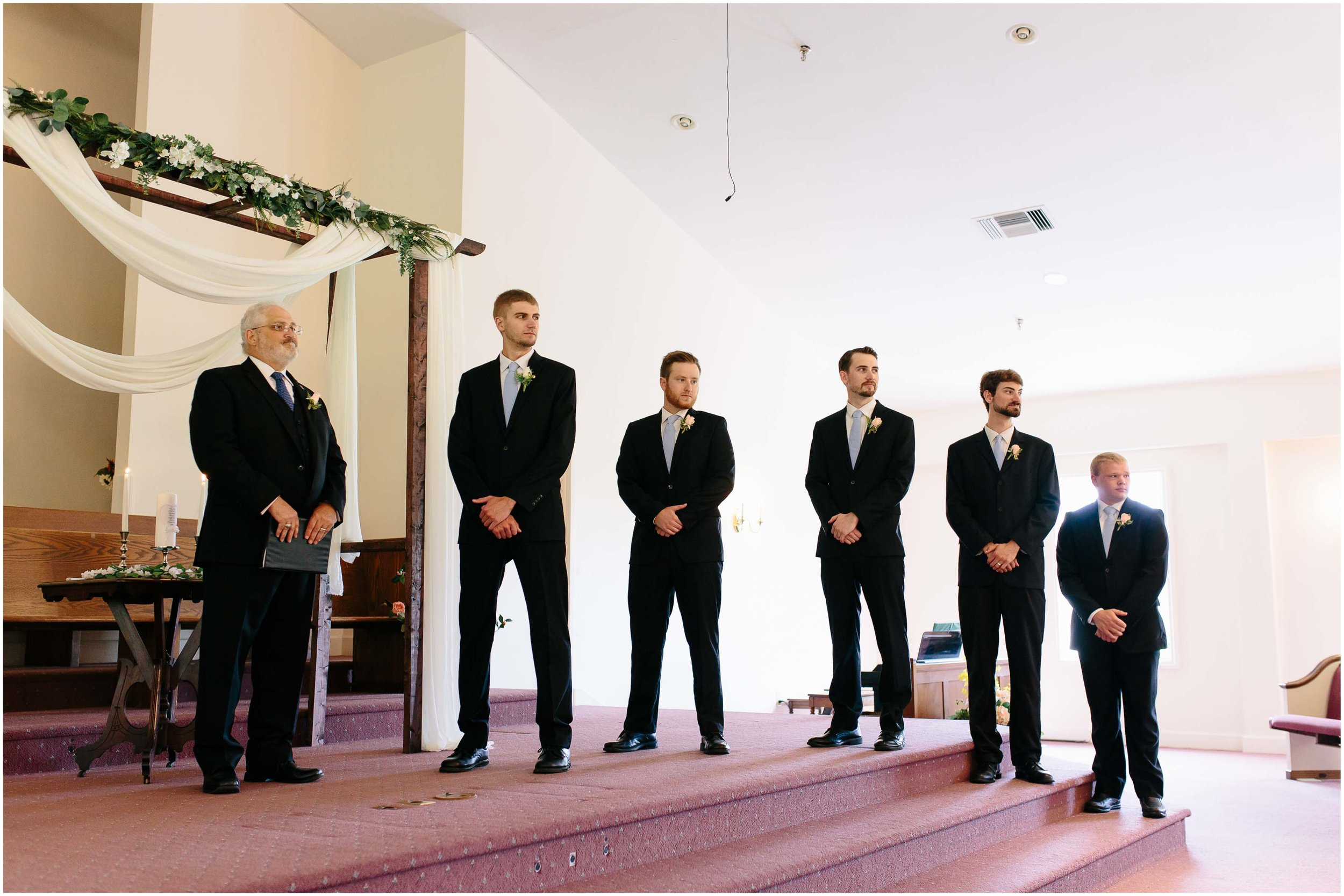 Cozy Country Church Wedding in Pepperell, Massachusetts ceremony
