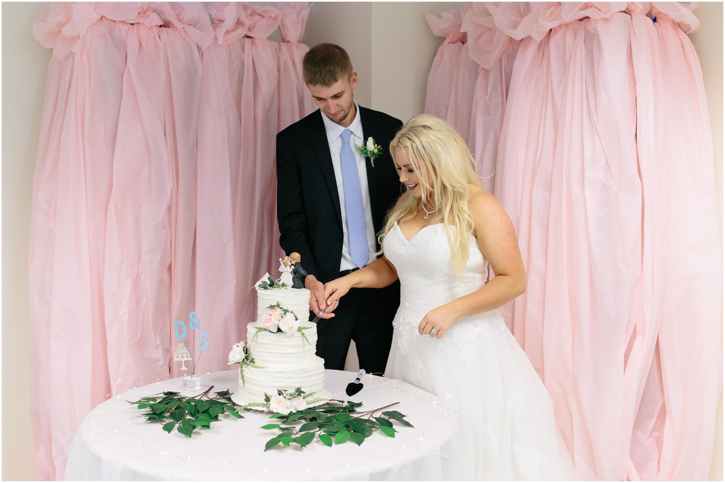 Cozy Country Church Wedding in Pepperell, Massachusetts reception