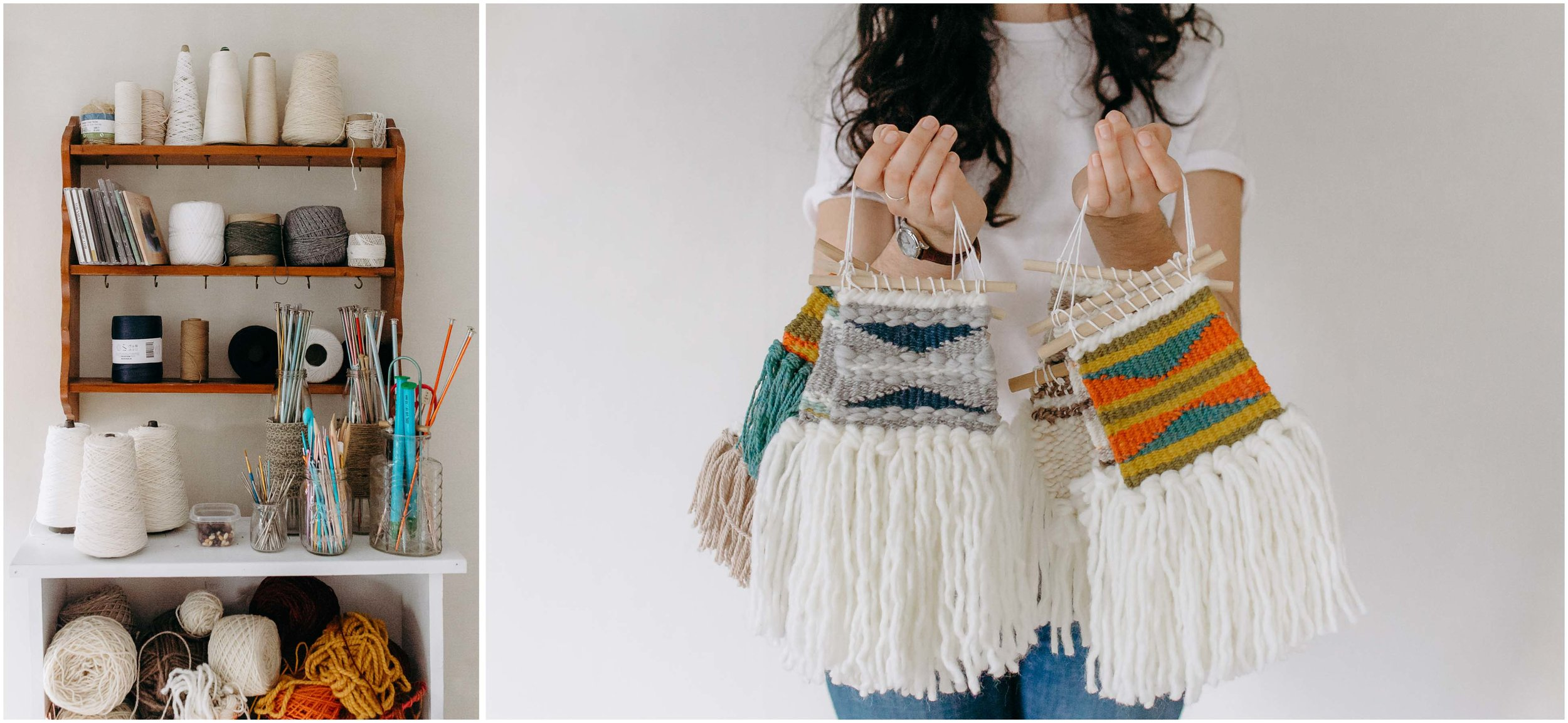 Melody Fulone Fiber Artist, Goffstown, New Hampshire Lifestyle Photographer, weaving