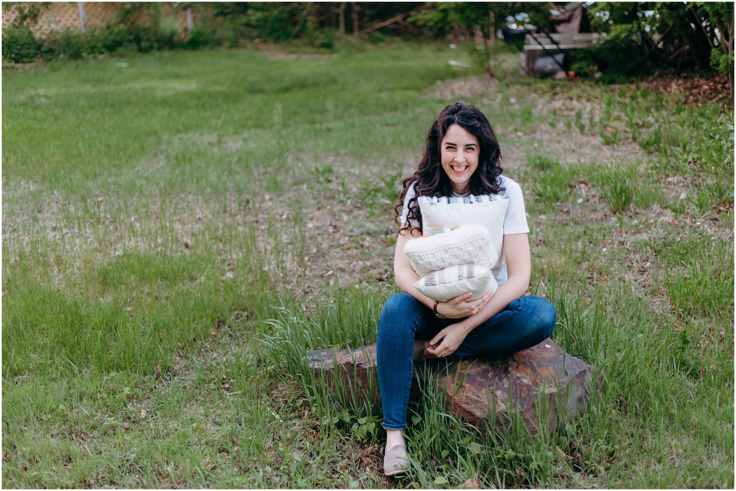 Melody Fulone Fiber Artist, Goffstown, New Hampshire Lifestyle Photographer