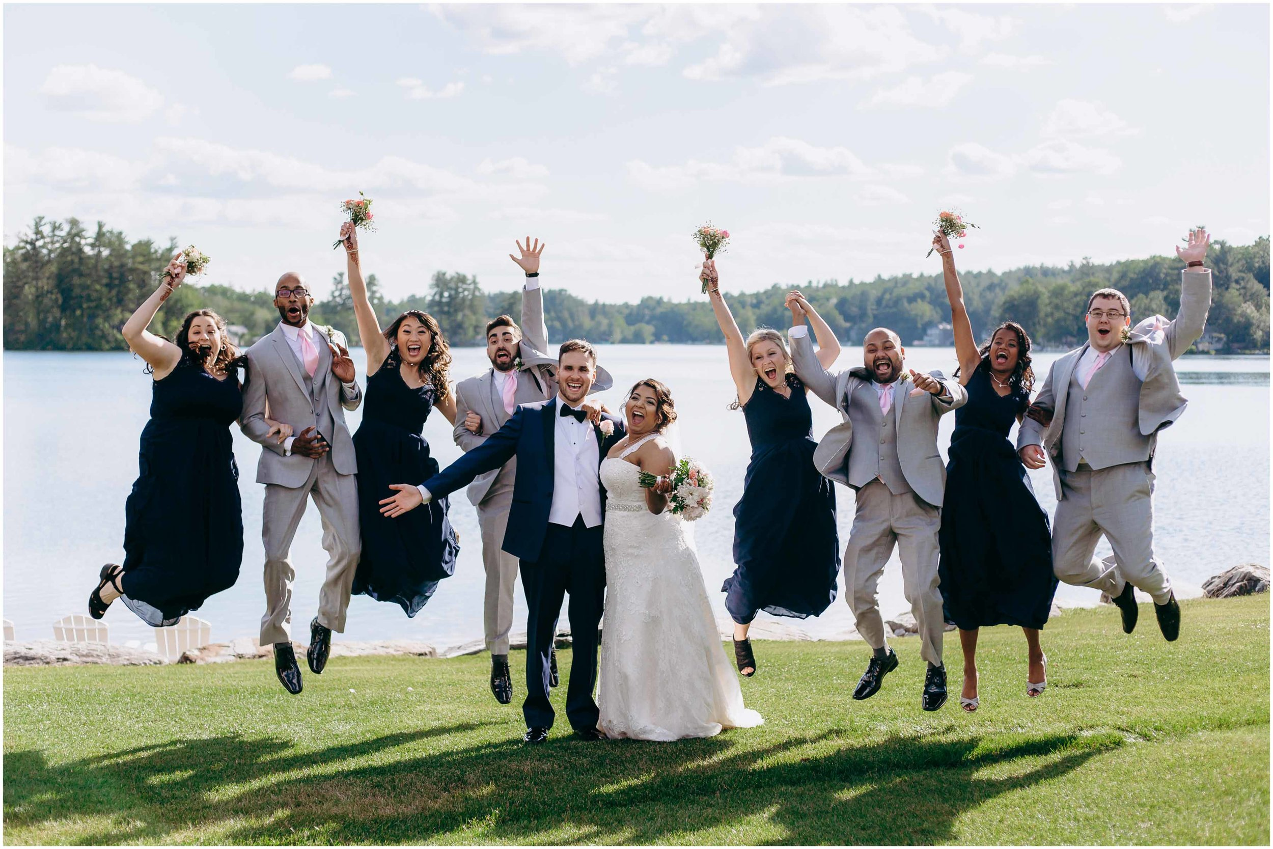 NH wedding photography, NH wedding photographer, wedding photographer NH, wedding photographers NH, wedding photography NH, jumping wedding party,