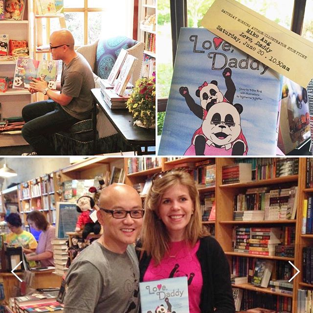 Thinking back to last year's INCREDIBLY SPECIAL Fathers Day book reading opportunity at @watchungbooksellers in Montclair, NJ!!!! 📚📖 Thanks so much for the year of support and giving a special chance to this local indie author. 🐼✍❤️ #eternallygrateful #debut  #bookrelease #storytelling #fathersday #fatherhood #kidlit #kidlitchat #childrensbook #panda #scbwi #selfpublishing #indieauthor