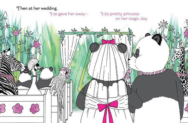 No matter how many rehearsals, I don't think I will ever be ready for this... 💒💍👰🏻👀 Visit www.lovedaddythebook.com and join our e-mail list to enter the book giveaway contest. #weddingday #daddyslittlegirl #princess #wedding #fathersday #fatherhood #kidlit #kidlitchat #childrensbook #bookgiveaway #bookmarketing #panda #scbwi #selfpublishing #indieauthor