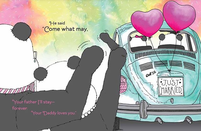 She will always be a part of me... 🌠🌈🎆 TWO MORE DAYS UNTIL THE CONTEST ENDS!!! Visit www.lovedaddythebook.com and join our e-mail list to enter the book giveaway contest. #weddingday #daddyslittlegirl #wedding #fathersday #fatherhood #kidlit #kidlitchat #childrensbook #bookgiveaway #bookmarketing #panda #scbwi #selfpublishing #indieauthor
