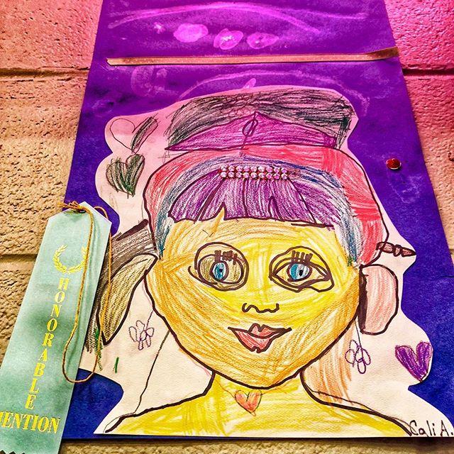 My daughter is my ❤️ 👩🏻🎨 . #love #art #artist #colors #daughter #daddydaughter #daddy #lovedaddythebook #instagood #amazing #proud #pride #prouddad #kidsart #favorite #contest #arteducation #colorful #artsoninstagram #primaryart #painting #paintings #truelove #kidsartstudio #kids #childrensart #kidspainting #selfportrait