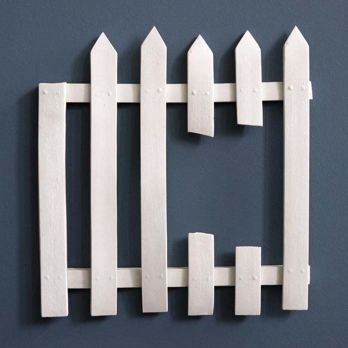 Jacqueline Gow,  Decorative Domestic Boundary II , 2015  Porcelain  9.75 x 9 x .5 in.  $650