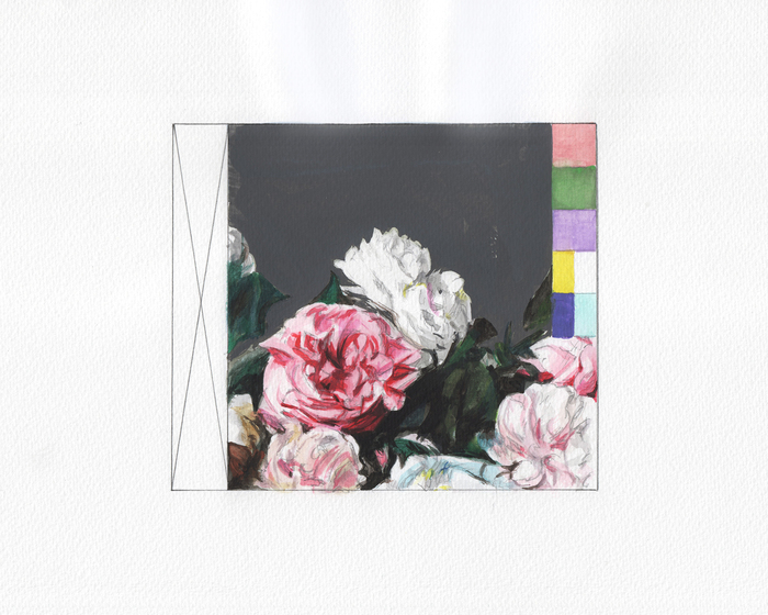 Eric LoPresti, Power Corruption and Lies CD # 7 , 2014  Watercolor, graphite on paper  10 x 8.5 in.  $425