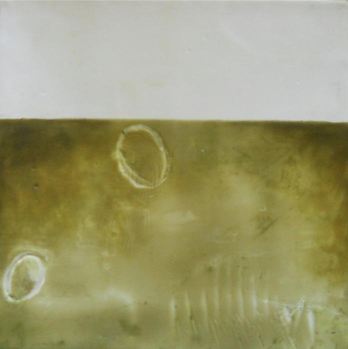 Colleen Monette   Warm Wax , 2013  Encaustic