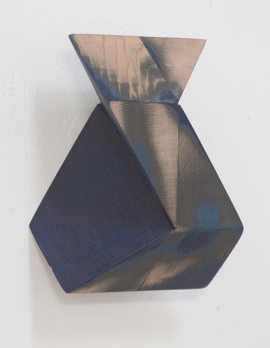Peter Millett      Too Blue 2 , 2012     Painted cedar