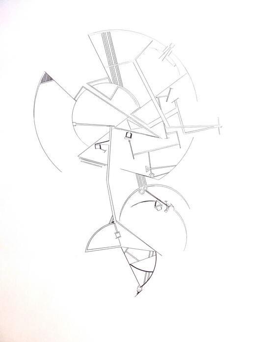 Seth McFarland      Balance Aspect No .   2  , 2011     Pen and ink