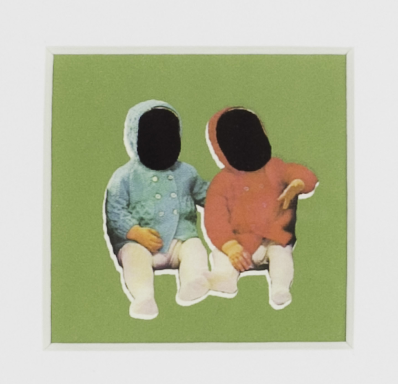 Karri A Dieken   Patron's Double , 2011  Serigraph and archival inkjet print